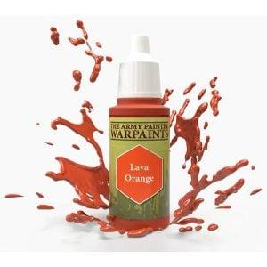 The Army Painter Acrylic Warpaint Lava Orange WP1106