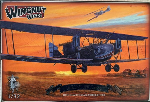 Wingnut Wings AEG G.IV Late 1/32 kit 32042