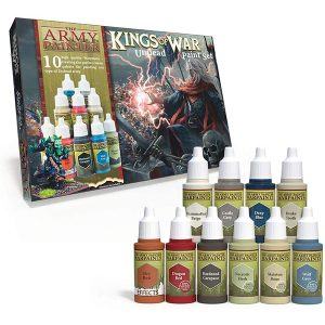 The Army Painter Warpaints Kings of War Undead Paint Set WP8016