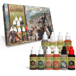The Army Painter Warpaints Kings of War Ogres Paint Set WP8017