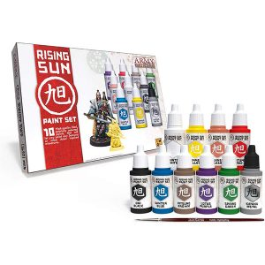 The Army Painter The Rising Sun Paint Set WP8030