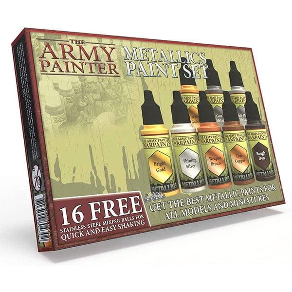 The Army Painter Warpaints Metallic Paint Set WP8043