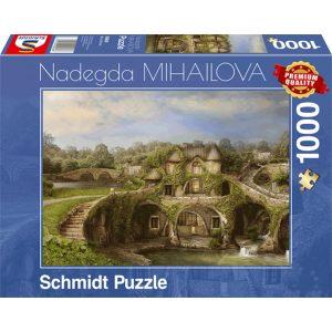 Schmidt 1000 Piece Puzzle Nature House 59608