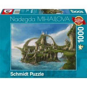 Schmidt 1000 Piece Puzzle Island of Waterfalls 59610