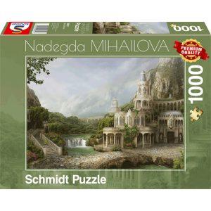 Schmidt 1000 Piece Puzzle Mountain Palace 59611