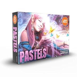 Ak Interactive Pastels Colors Set 11607