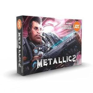 Ak Interactive Metallics Set 11608