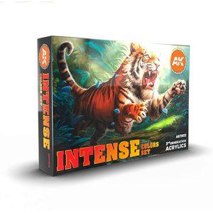 Ak Interactive Intense Colors Set 11612