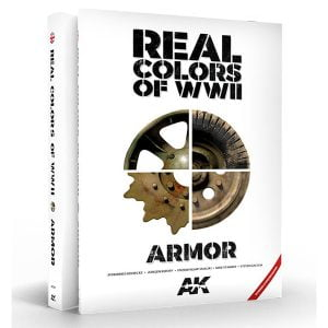 AK Interactive Real Colors of WWII Armour New 2nd Edition AKI 299