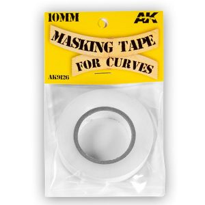 AK Interactive Masking Tape for Curves 10 mm AKI 9126