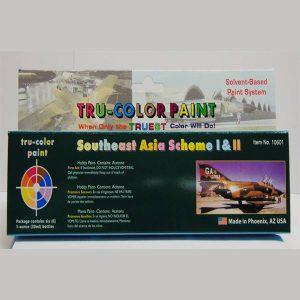 Tru-Color Southeast Asia Paint Set Aircraft TCP-10601