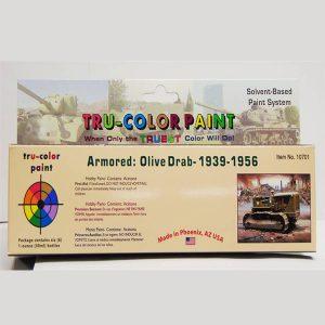 Tru-Color Olive Drab Paint Set Armor TCP-10701