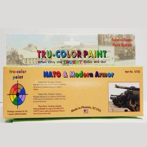 Tru-Color NATO & Modern Colors Paint Set Armor TCP-10703