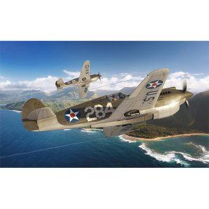 Curtis P-40B Warhawk 1/72 Scale 01003B