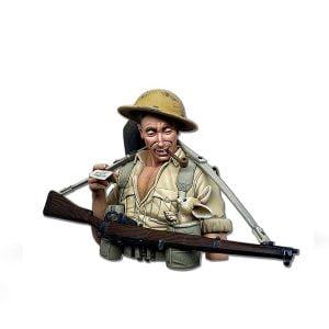Abteilung 502 The Desert Fox British 8th Army Figure ABT1001