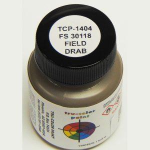 Tru-Color FS-30118 MERDC Field Drab 1 ounce TCP-1404