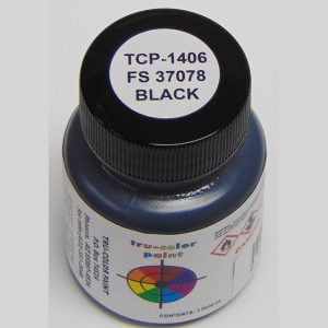 Tru-Color FS-37078 MERDC Black 1 ounce TCP-1406