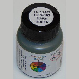 Tru-Color FS-34102 MERDC Dark Green 1 ounce TCP-1407