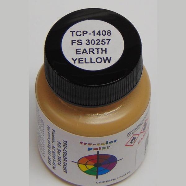 Tru-Color FS-30257 MERDC Earth Yellow 1 ounce TCP-1408