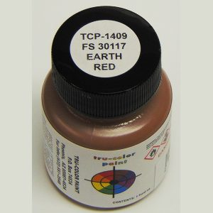 Tru-Color FS-30117 MERDC Earth Red 1 ounce TCP-1409