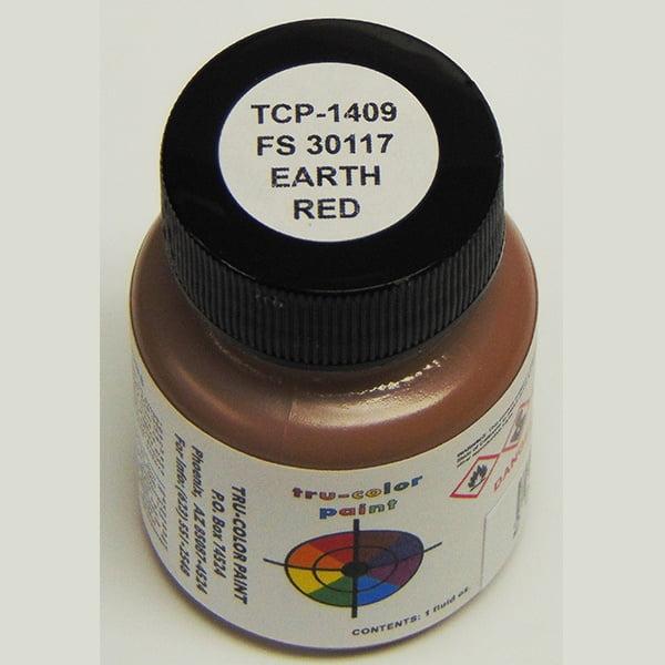 Tru-Color FS-30117 MERDC Earth Red 1 ounce TCP-1409