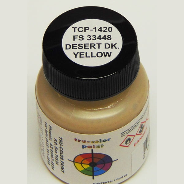 Tru-Color FS-33448 Desert Dark Yellow 1 ounce TCP-1420