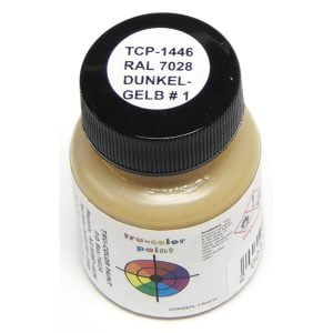 Tru-Color RAL 7028 Dunkelgelb No1 Dark Yellow 1 ounce TCP-1446