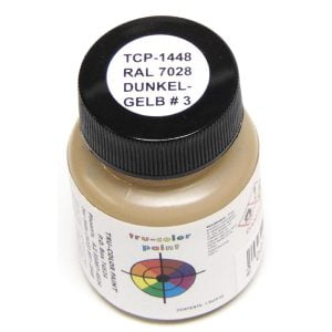 Tru-Color RAL 7028 Dunkelgelb No3 Dark Yellow 1 ounce TCP-1448