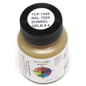 Tru-Color RAL 7028 Dunkelgelb No4 Dark Yellow 1 ounce TCP-1449