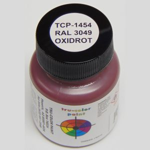 Tru-Color RAL 3049 Red Oxide Primer 1 ounce TCP-1454