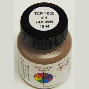 Tru-Color #4 Brown- 1944 1 ounce TCP-1035