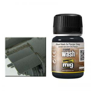 Ammo by Mig Blue Wash For Panzer Grey AMIG1006