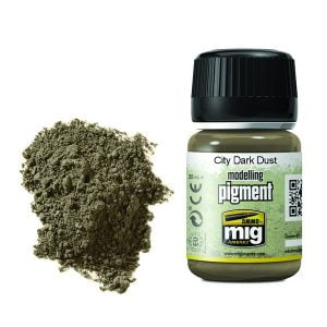 Ammo by Mig City Dark Dust Pigment AMIG3028