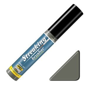 Ammo by Mig Cold Dirty Grey Streaking Brusher AMIG1251