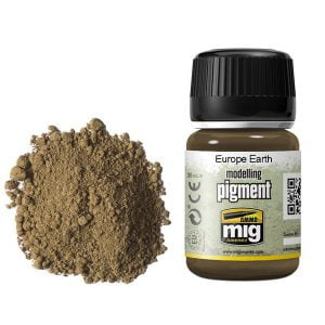 Ammo by Mig Europe Earth Pigment AMIG3004