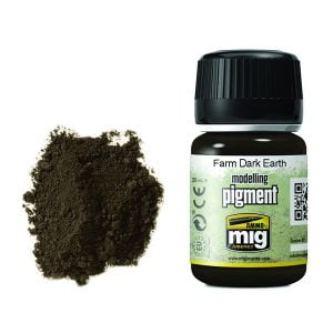 Ammo by Mig Farm Dark Earth Pigment AMIG3027