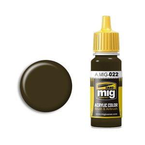 Ammo by Mig Jimenez 3B Au Basic Protector Alkidno-Uretanovaya Acrylic Paint AMIG0022
