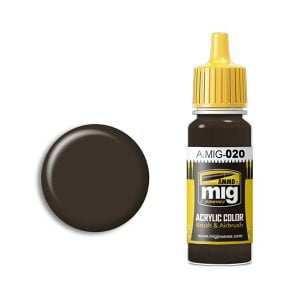 Ammo by Mig Jimenez 6K Russian Brown Acrylic Paint AMIG0020
