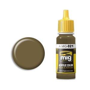 Ammo by Mig Jimenez 7K Russian Tan Acrylic Paint AMIG0021