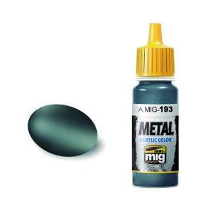 Ammo by Mig Jimenez Bluish Titanium Acrylic Paint AMIG0193