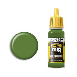 Ammo by Mig Jimenez Bright Green Amt-4 Acrylic Paint AMIG0080