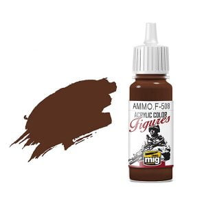 Ammo by Mig Jimenez Brown Base Fs-30108 Acrylic Paint AMMOF508