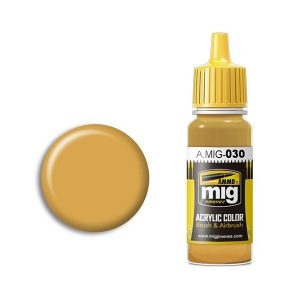 Ammo by Mig Jimenez Sand Yellow Acrylic Paint AMIG0030