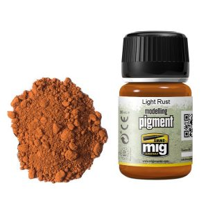 Ammo by Mig Light Rust Pigment AMIG3006