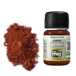 Ammo by Mig Medium Rust Pigment AMIG3005