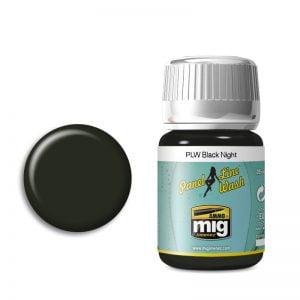 Ammo by Mig Panel Line Wash Black Night AMIG1611