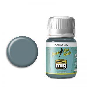 Ammo by Mig Panel Line Wash Blue Grey AMIG1613