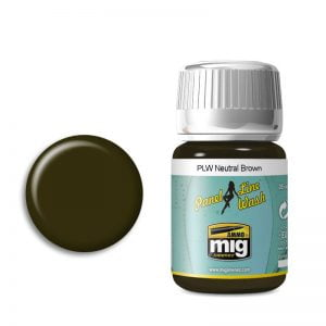 Ammo by Mig Panel Line Wash Neutral Brown AMIG1614