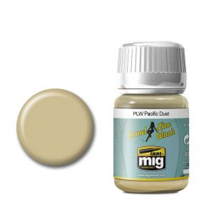 Ammo by Mig Panel Line Wash Pacific Dust AMIG1604