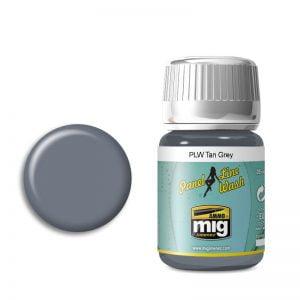 Ammo by Mig Panel Line Wash Tan Grey AMIG1610